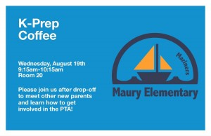 k prep coffee flyer